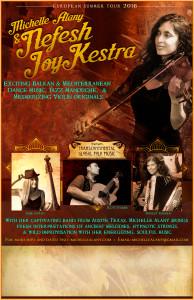 Nefesh JoyKestra tours Europe!